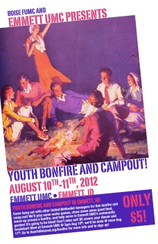 Youth Campout Flyer